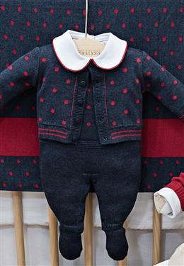 KIT 5 PEÇAS BABY BOY MINI ARGYLE 10015