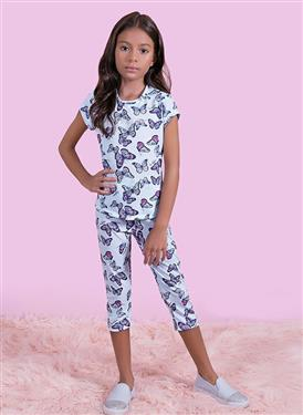 BABY LOOK ESTAMPADA KIDS 9049