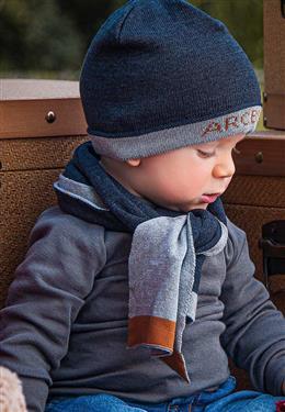 TOUCA INFANTIL MASCULINA TRICOT ESPORTIVA 9425